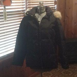 Black winter jacket